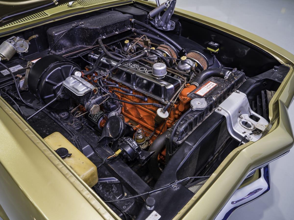 TORANA XU-1 GTR Engine