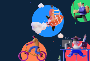 Free Figma 3D Characters