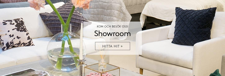Kom och besök Sleepo Showroom på Markvardsgatan 9 i Vasastan, Stockholm.