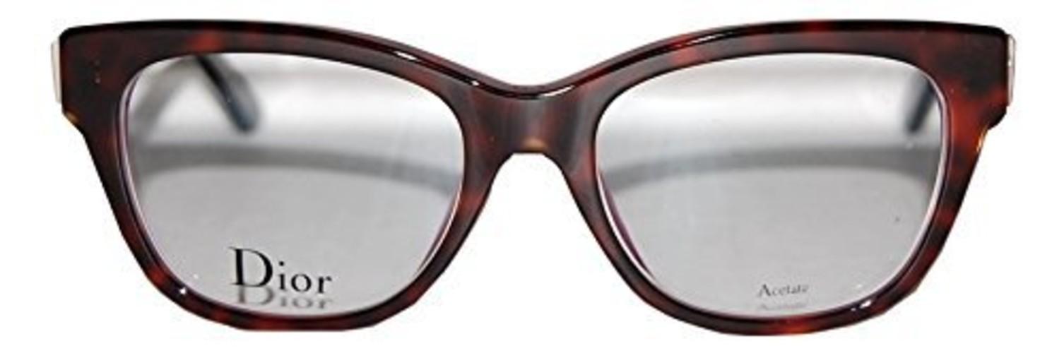 3595a969538 Glasögon Christian Dior Montaigne 6 G90 Havana Crystal Lilac - Vårt ...