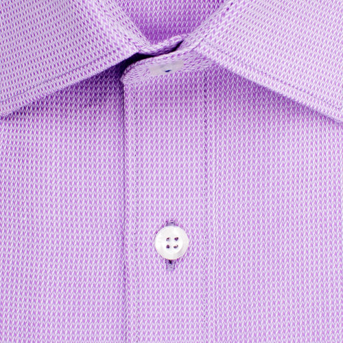 Enlarge  BROOKSFIELD Mens Plain Textured Shirt BFC1502 LILAC