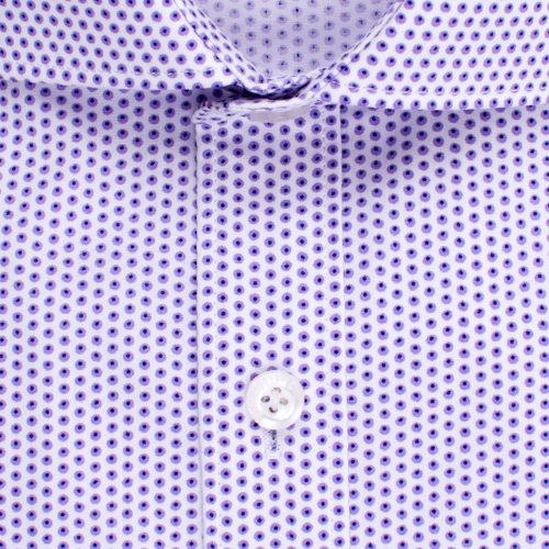 Enlarge  BROOKSFIELD Mens Career Polka Dot Print Shirt BFC1517 PURPLE