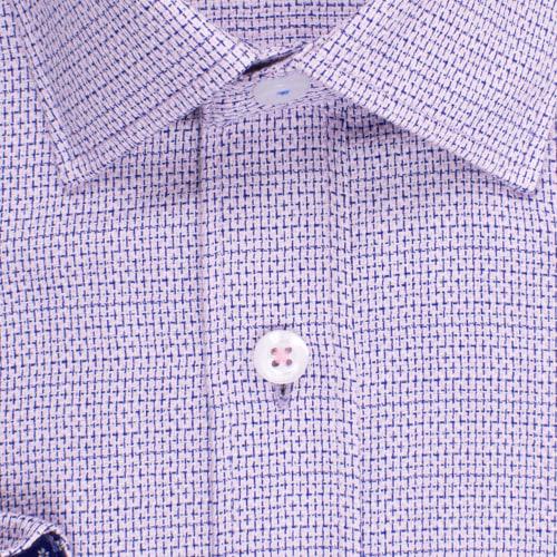 Enlarge  BROOKSFIELD Mens Multi Textured Weave Shirt BFC1526 PINK