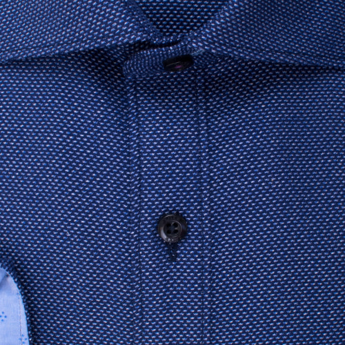 Enlarge  BROOKSFIELD Mens Jaspe Dobby Shirt BFC1527 NAVY