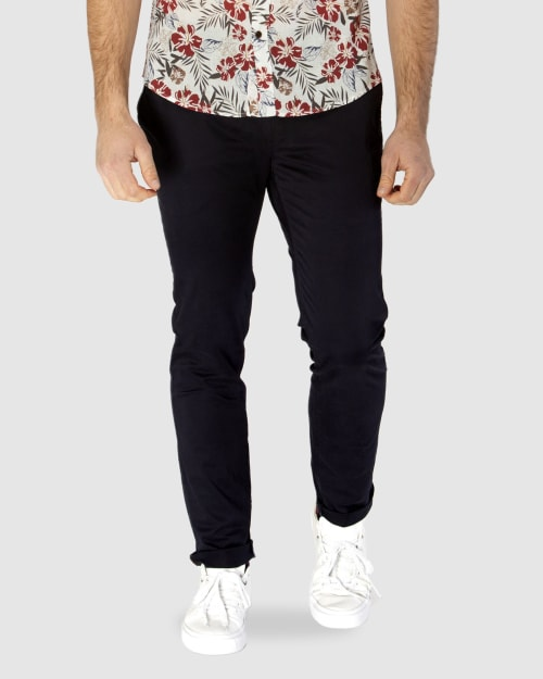Enlarge  BROOKSFIELD Mens NAVY COTTON STRETCH CHINO BFU688 NAVY