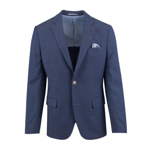 Enlarge  BROOKSFIELD Mens Stretch Multi Textured Weave Blazer BFU802 NAVY