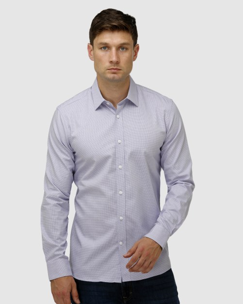 Enlarge  BROOKSFIELD Mens Intricate Weave Business Shirt BFC1641 PINK