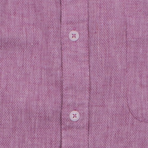 Enlarge  BROOKSFIELD Mens Linen Blend Pin Dot Print Casual Long Sleeve Shirt BFS917 FUSCHIA