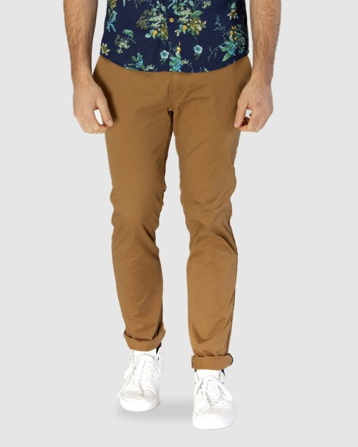 Brooksfield CAMEL COTTON STRETCH CHINO BFU688 colour: CAMEL
