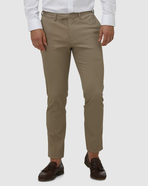 Brooksfield Cotton Stretch Tailored Chino BFU857 colour: TAN
