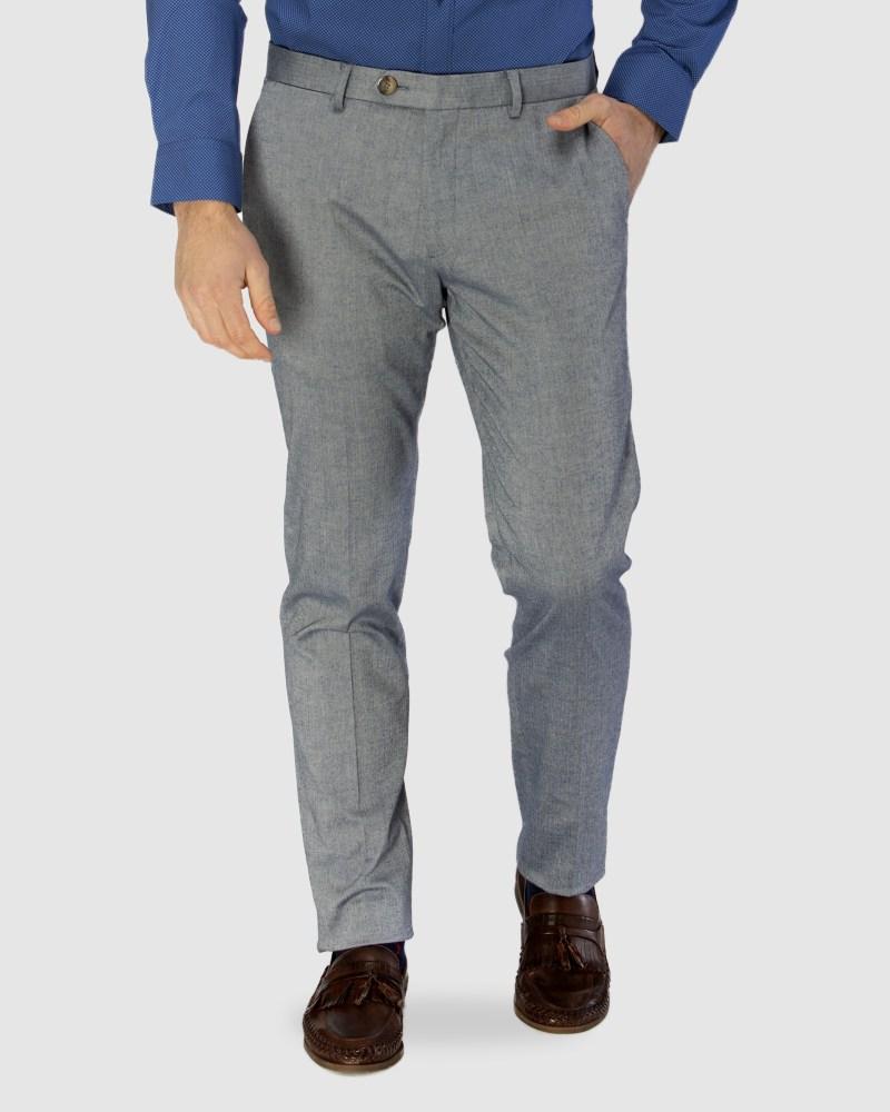 Enlarge  BROOKSFIELD Mens Stretch Herringbone Weave Trouser BFU832 NAVY