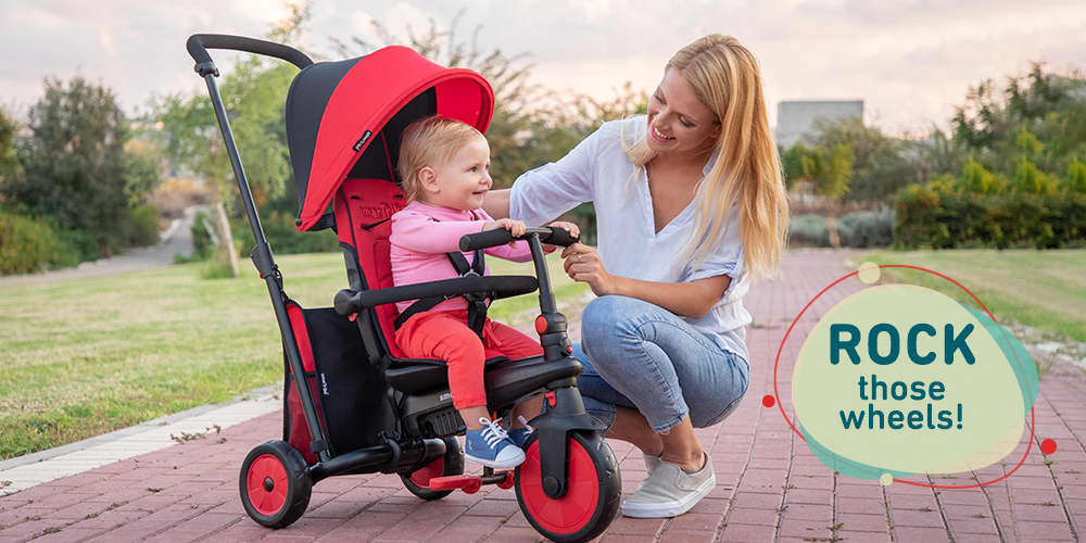 Getting Excited for Your Child's First Toddler Girl Tricycle