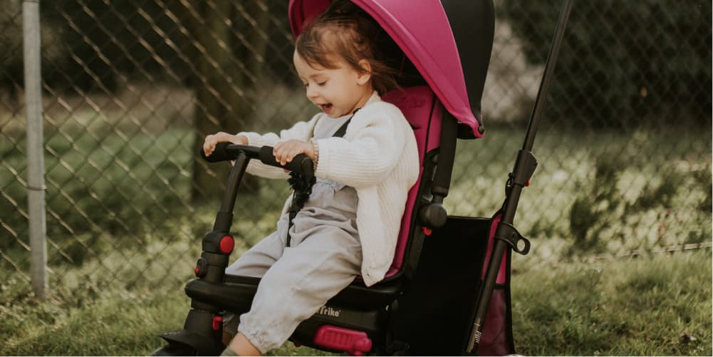 Trikes Vs. Strollers: Choosing a Wheeled Toy For Your Baby
