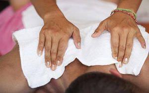heated muscle massage