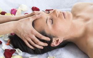 head, neck & shoulder massage