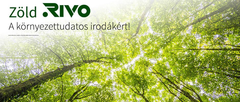 Környezettudatos irodák Zöld Rivo