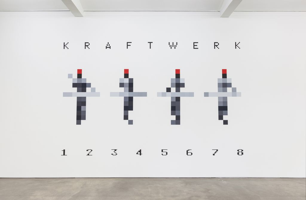 Kraftwerk – 3-D VIDEO-INSTALLATION 1 2 3 4 5 6 7 8 – Berlin
