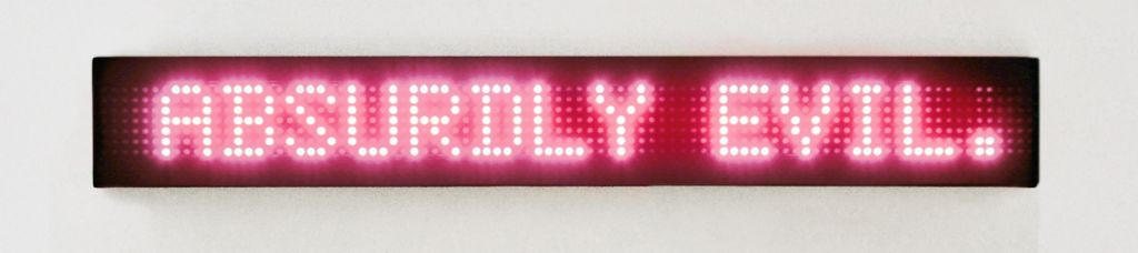 Jenny Holzer – Sophisticated Devices – London