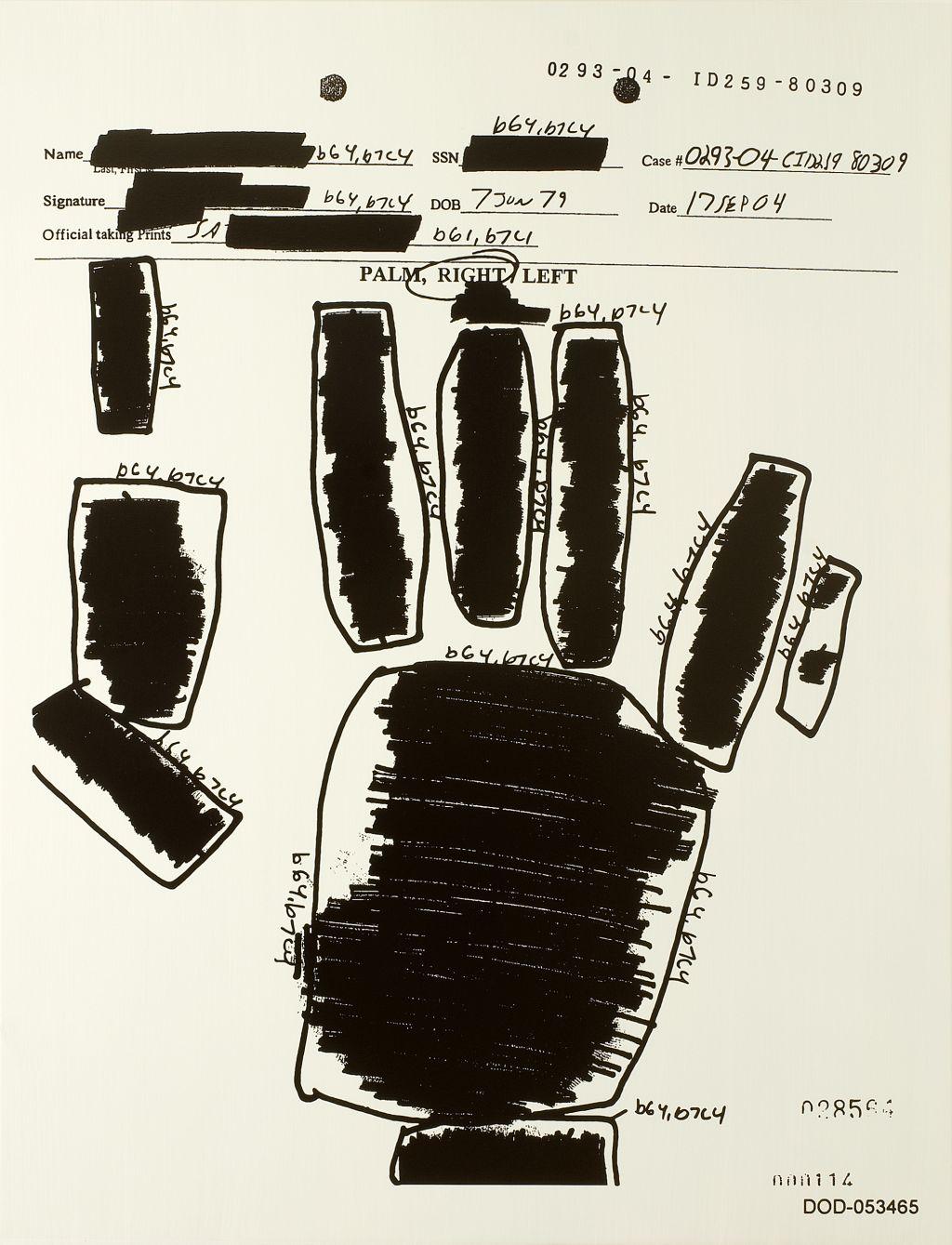 Jenny Holzer – Detained – London