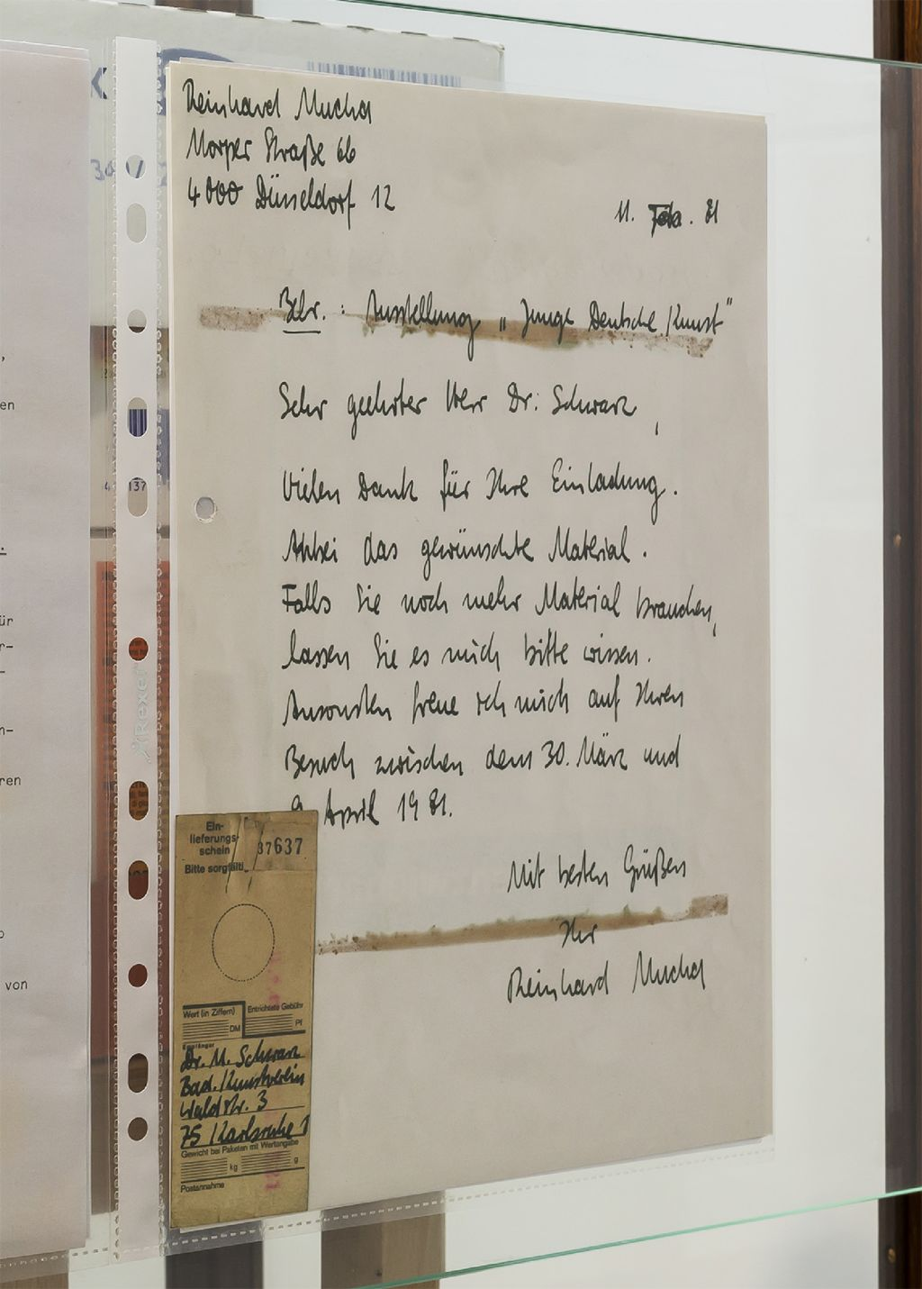 Reinhard Mucha – Mucha Unnötig – Das Ende vom Lied – Berlin