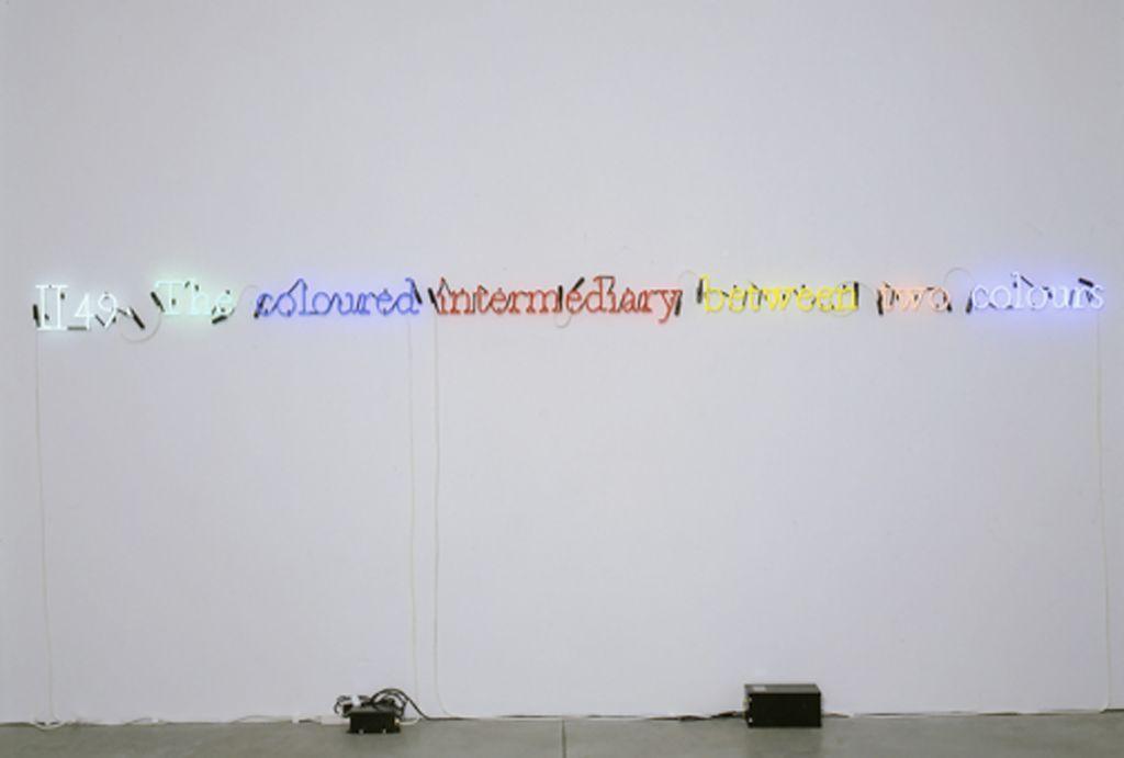 Joseph Kosuth – Joseph Kosuth – London