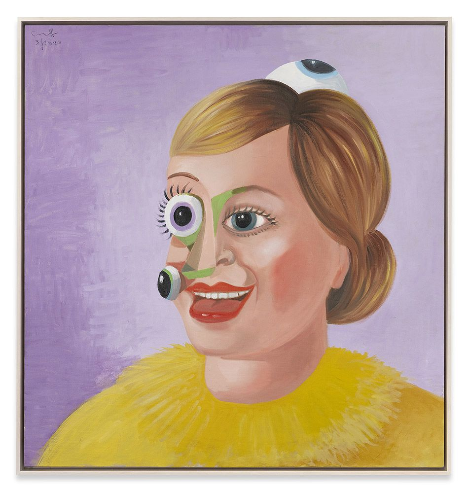 George Condo and the Unappeasable Eye