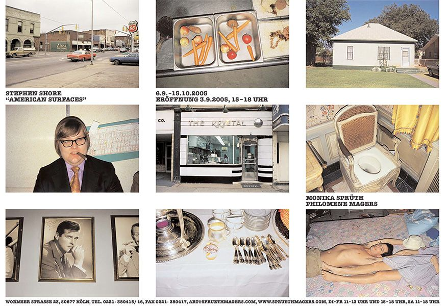 Stephen Shore – American Surfaces – Cologne
