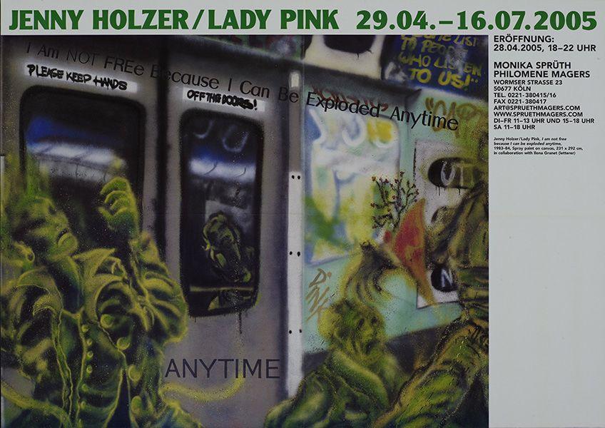 Jenny Holzer / Lady Pink – Hot Pink – Cologne