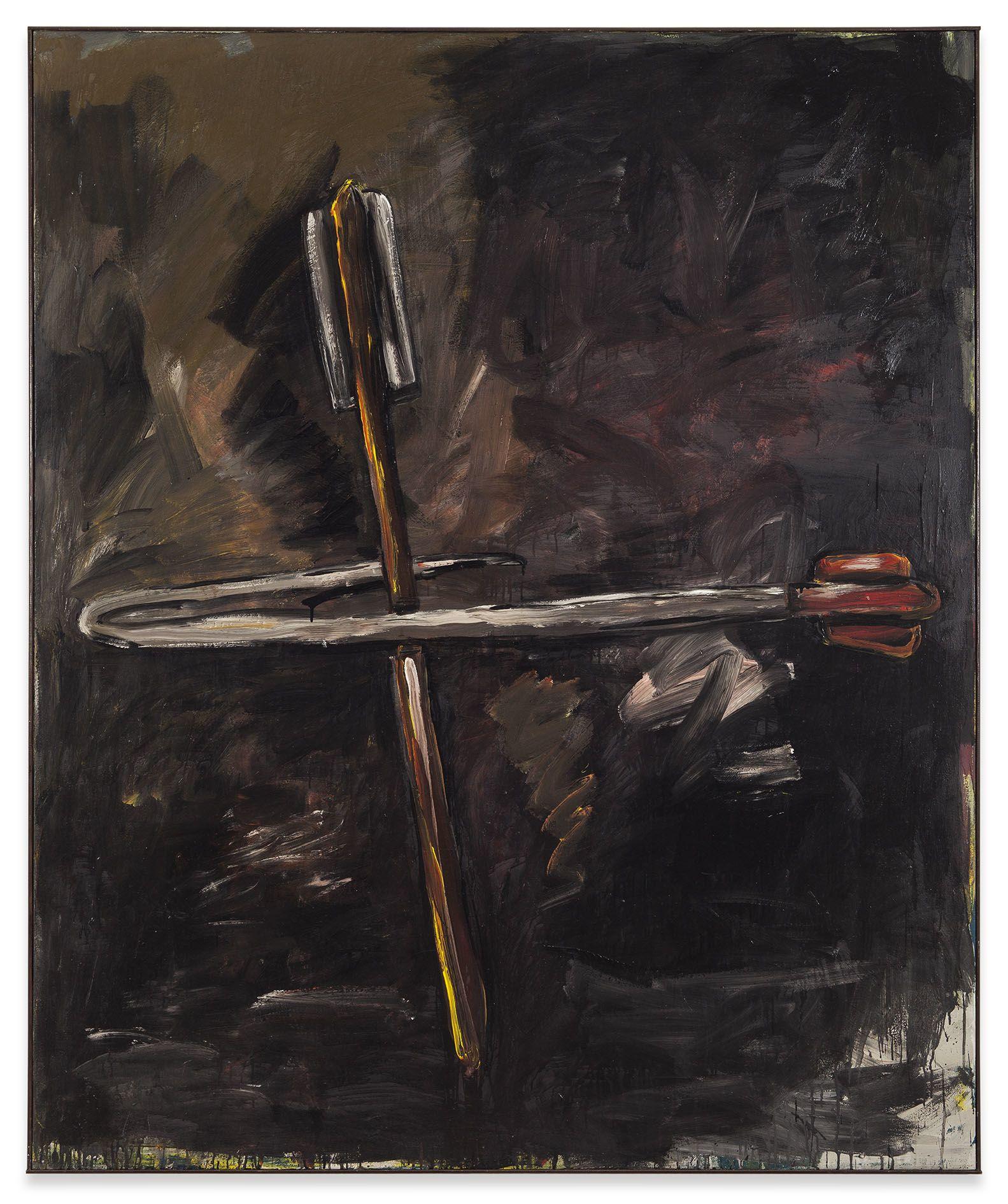 Walter Dahn – Walter Dahn 1980–83 / 2014: 2 Räume – Berlin