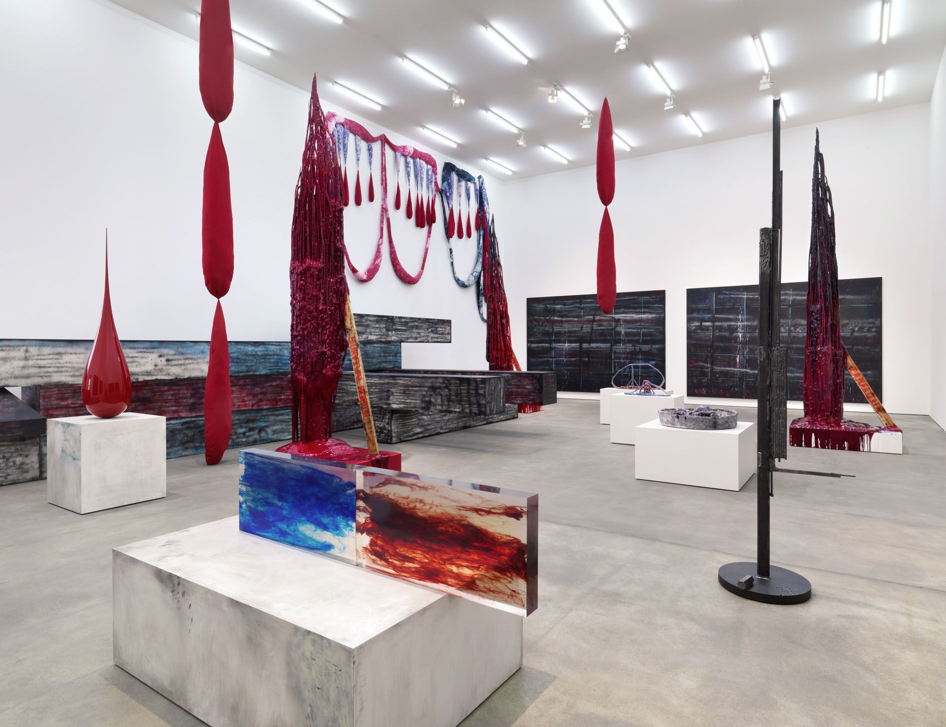 Sterling Ruby – I AM NOT FREE BECAUSE I CAN BE EXPLODED ANYTIME – Berlin