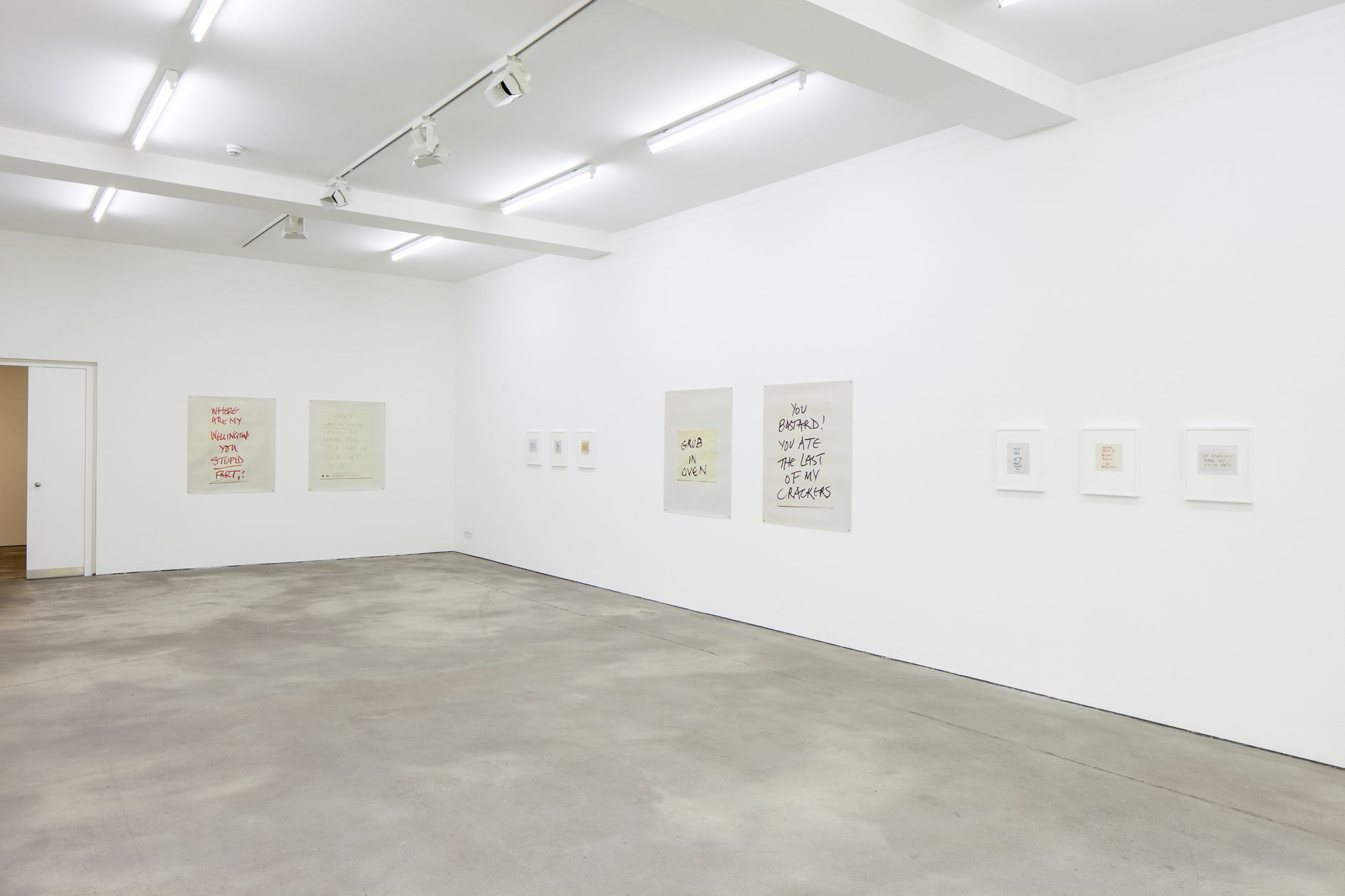 Keith Arnatt – Notes – Berlin