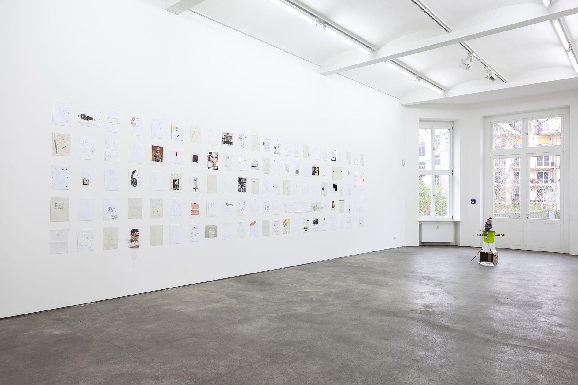 John Bock – Knick-Falte in der Schädeldecke – Berlin