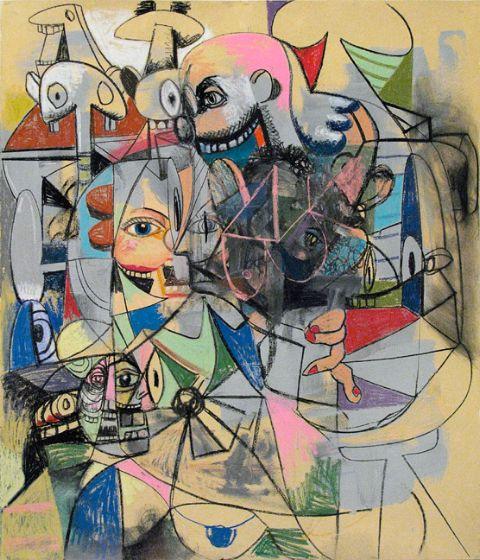 George Condo – Drawings – Berlin