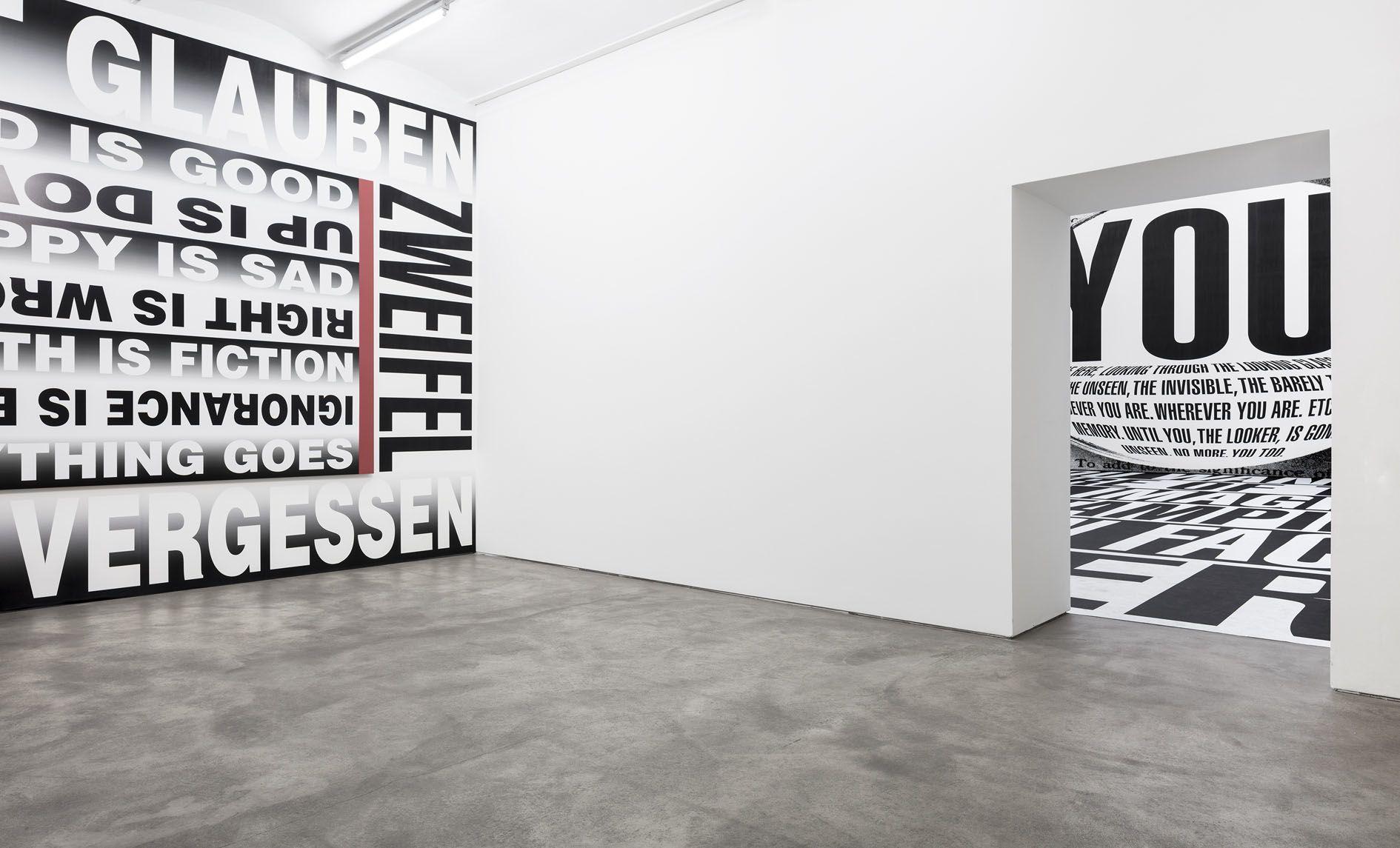 Barbara Kruger – FOREVER – Berlin