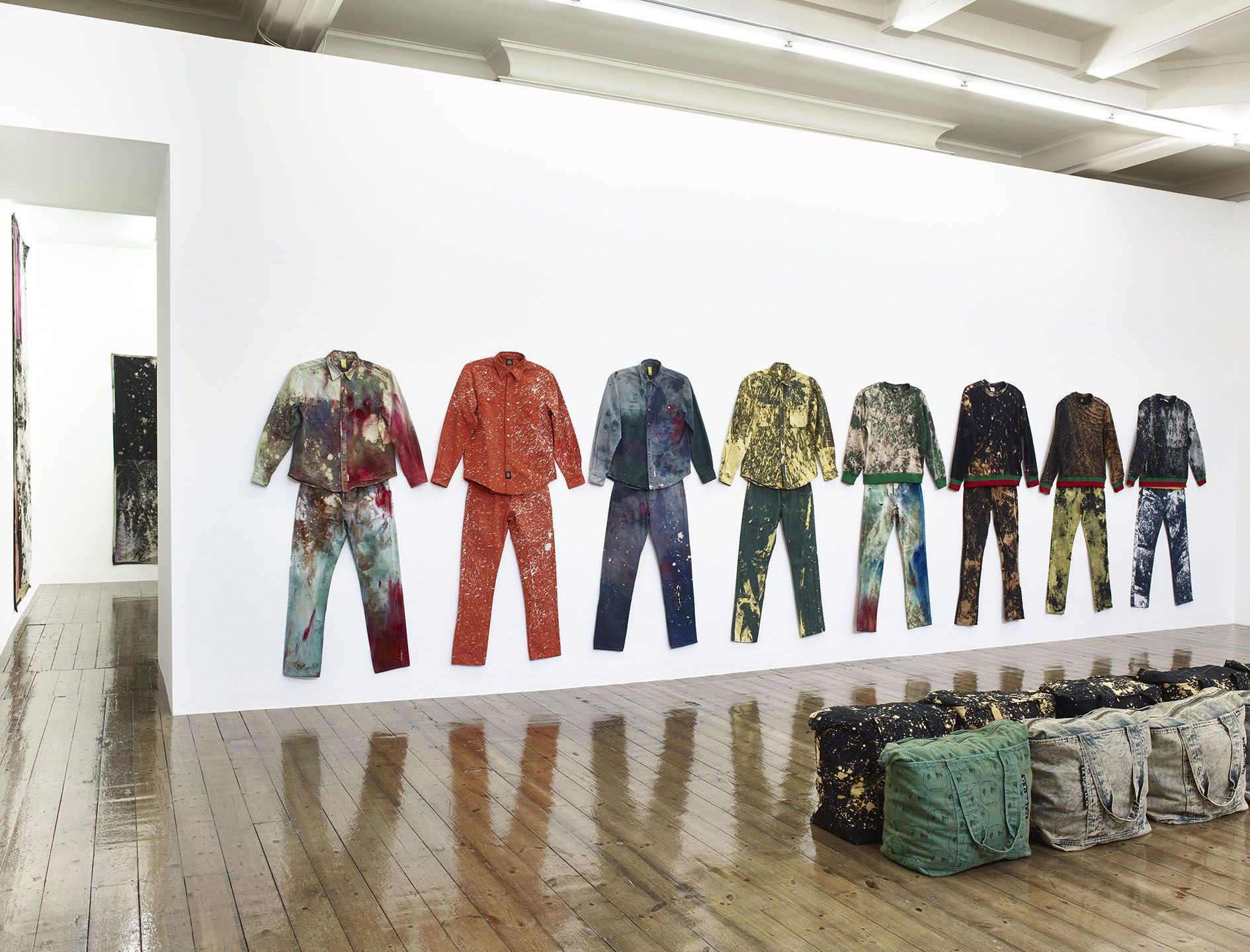 Sterling Ruby – WORK WEAR: Garment and Textile Archive 2008–2016 – London