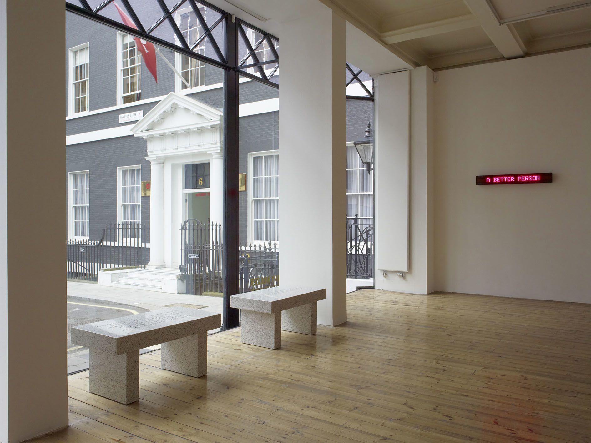 Jenny Holzer – Sophisticated Devices – London