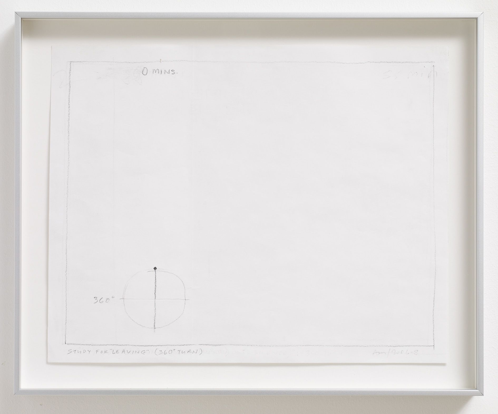 Anthony McCall – Works on Paper – London