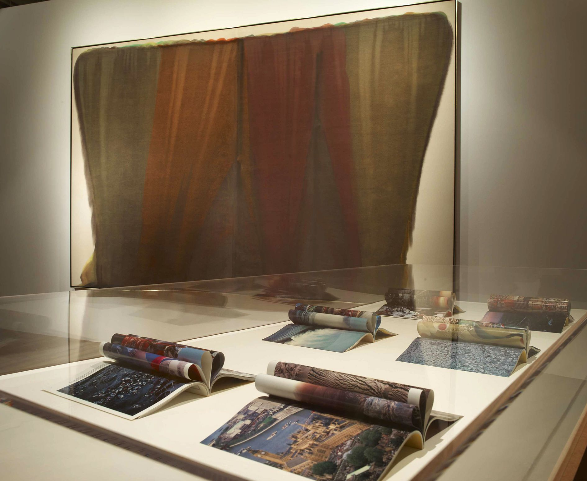 Cyprien Gaillard, Morris Louis – From Wings to Fins – London