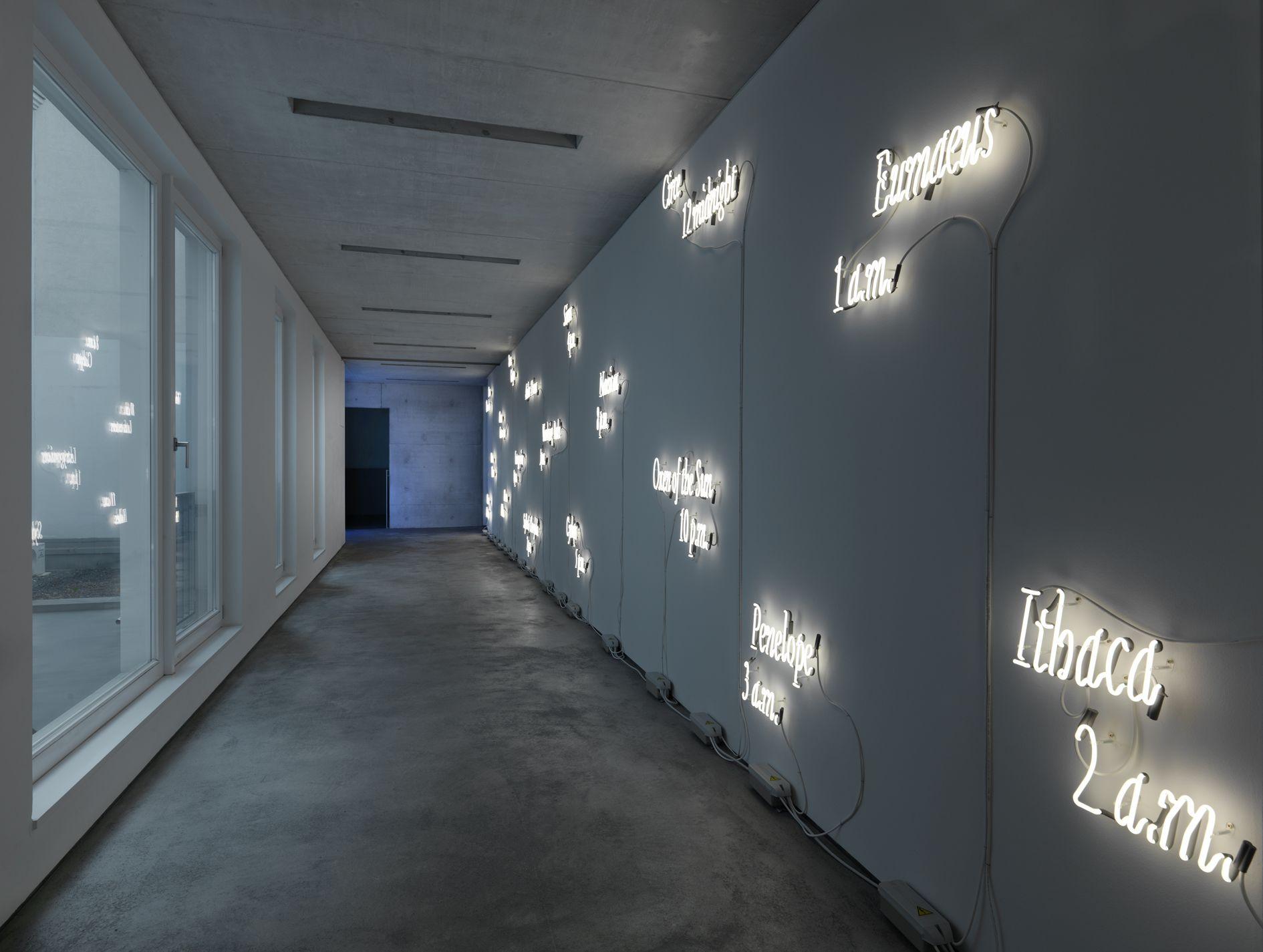 Joseph Kosuth – Insomnia: assorted, illuminated, fixed., – Berlin
