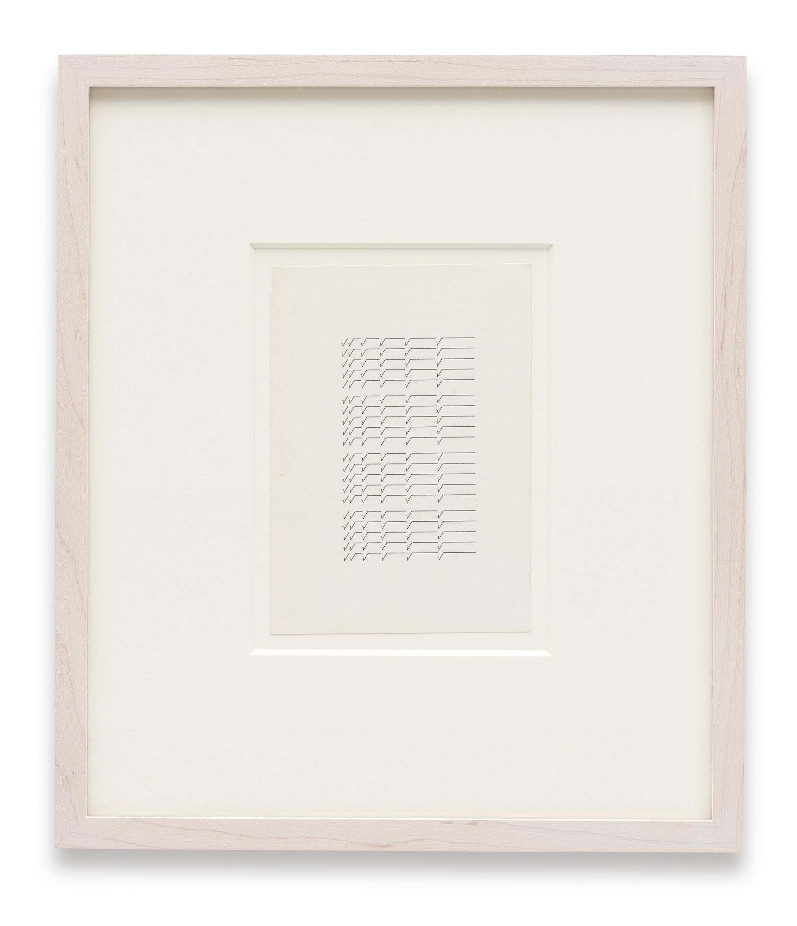 Zeichen der Zeit / Zeit der Zeichen – Sign of the Times / Times of the Sign – Hanne Darboven and Ruth Wolf-Rehfeldt – London