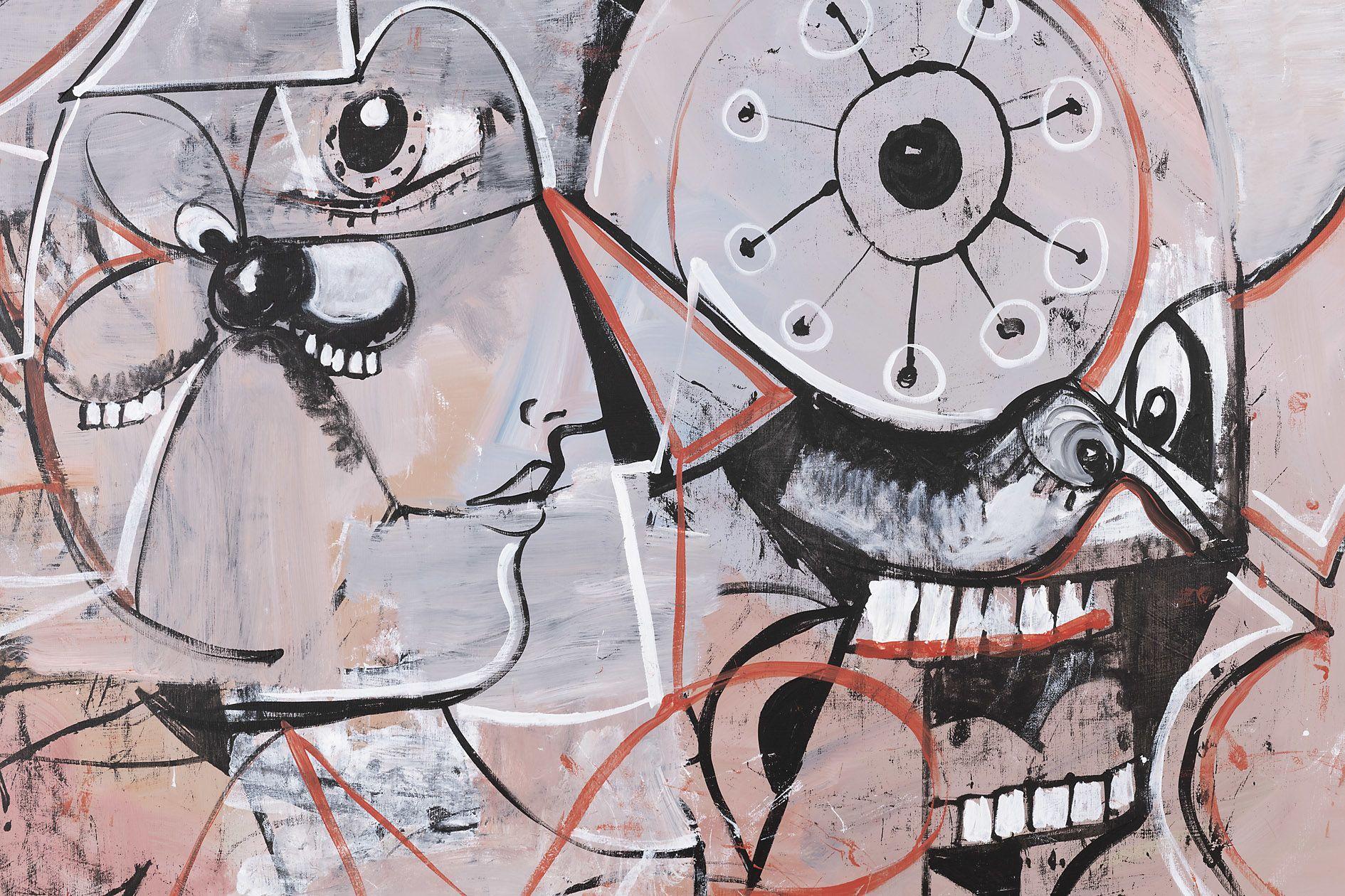 George Condo – Linear Expression – Berlin