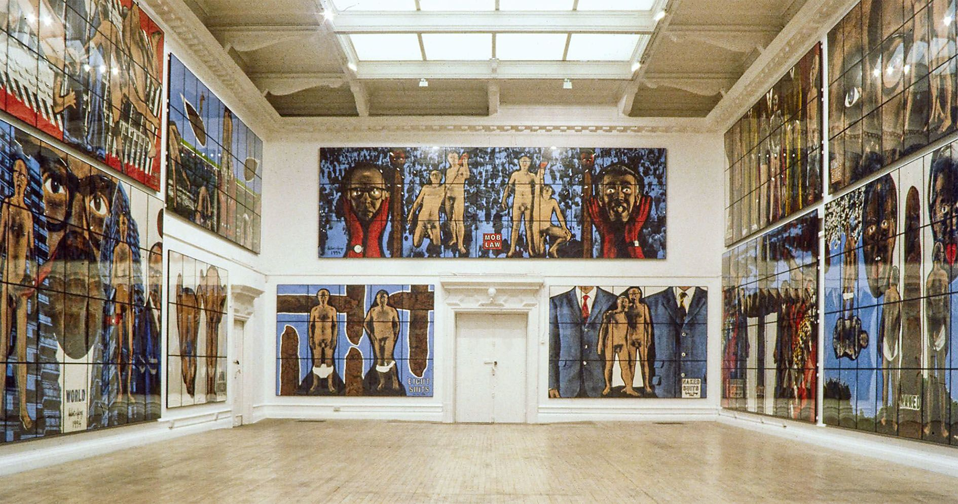 Gilbert & George – THE PARADISICAL PICTURES – Berlin