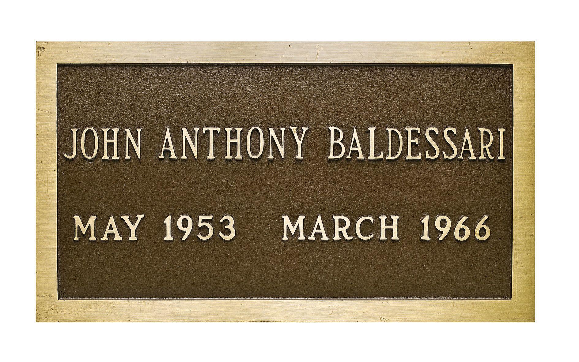 John Baldessari – Announcing Global Representation of his Estate –