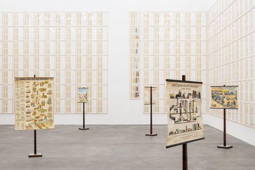 Hanne Darboven – Erdkunde und (Süd-) Koreanischer Kalender – Berlin