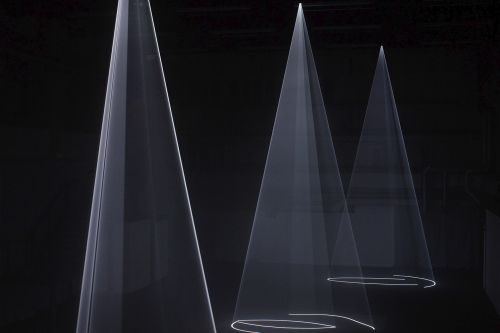 Anthony McCall – Vertical Works – Sprüth Magers at Ambika P3, University of Westminster