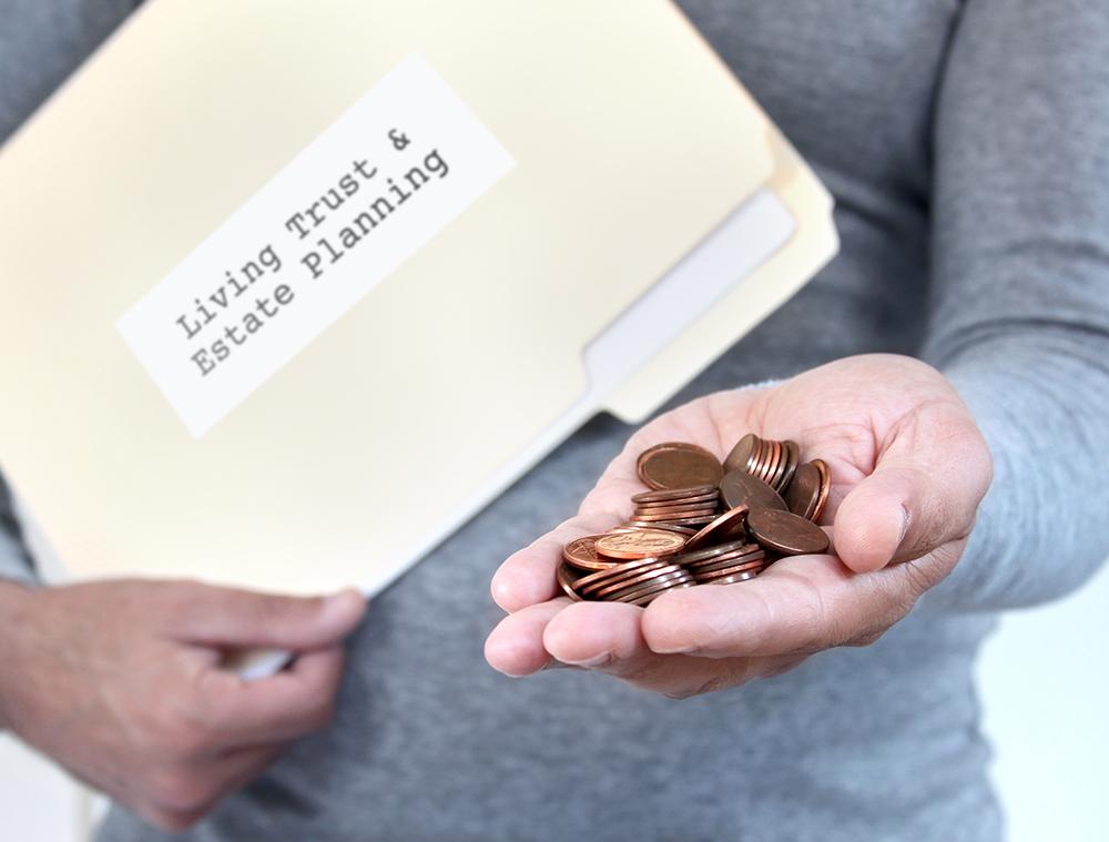 saving money for estate plan