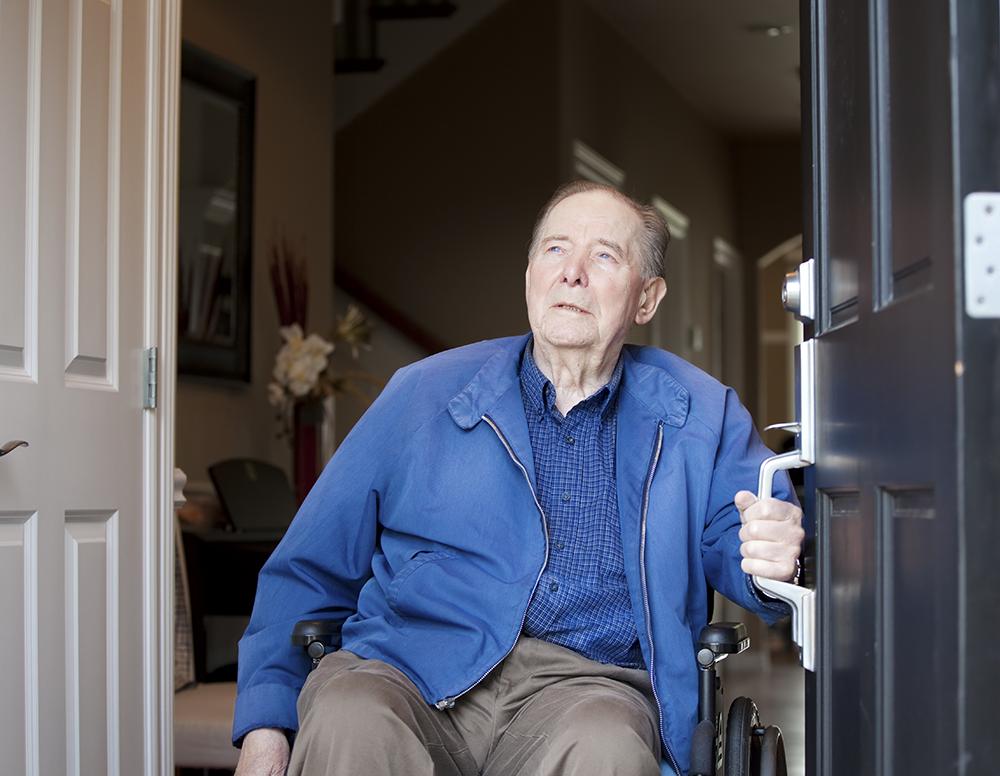 Homebound Senior Veterans