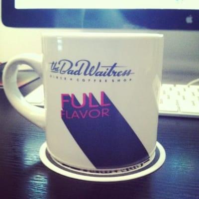 Mug that says Full Flavor