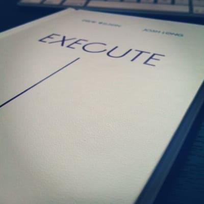 Execute book cover