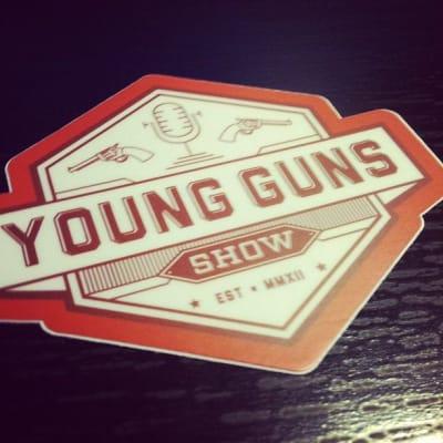 Young Guns sticker